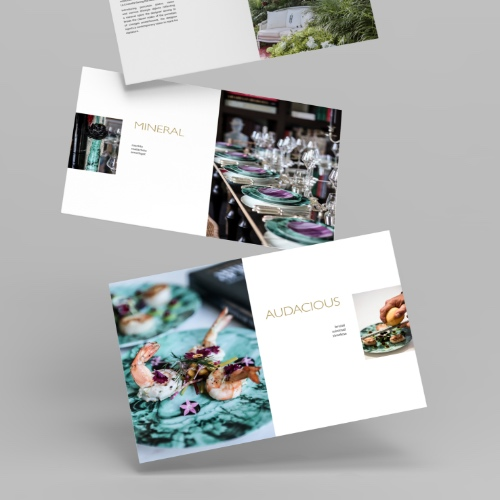 Brochure Axel Huynh pour Legle Porcelaines